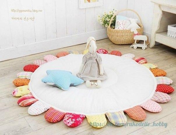 Ideas para el hogar alfombra paso a paso con restos de telas - Telas para alfombras ...