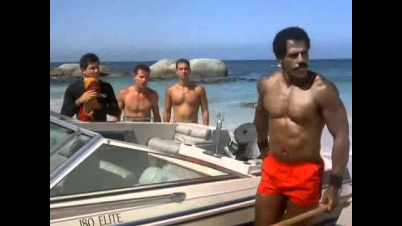 American Ninja 2 Sweaty Beach Brawl