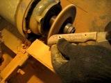 Как сделать нож из пилы быстрореза своими руками.Делаем Рукоять