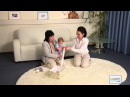 Интеллектуальное развитие ребенка 6-7 месяцев по методике Маленький Леонардо . Урок 5