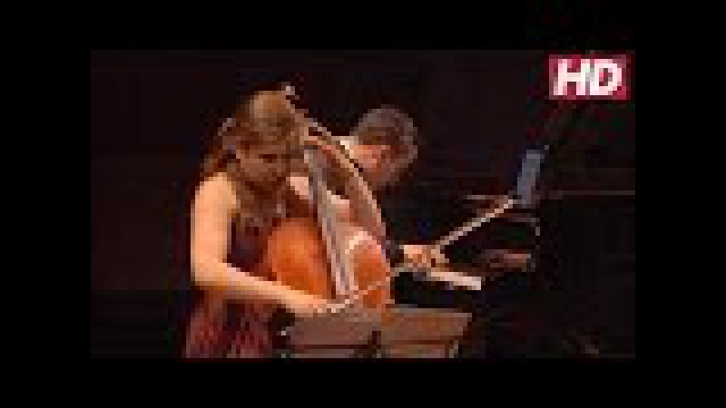 Weilerstein and Barnatan - Rachmaninov - Sonata for Cello and Piano in G Minor