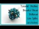 Tutorial Perline Beaded Bead Bullbead perla rivestita con spike Il Trailer