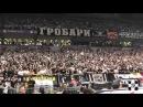 Grobari u Areni 21.374 [navijanje] /Partizan -Real 02.01.2014