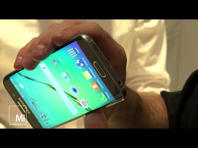 Samsung Galaxy S6 и Galaxy S6 Edge. Первый контакт.
