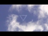 Amazing UFO Event! Illuminati Triangle in clouds, Cloaked UFO Jan 2015