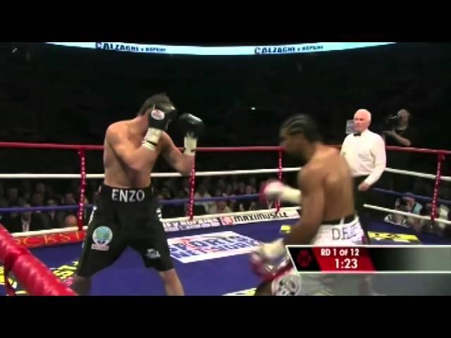 David Haye vs Enzo Maccarinelli (WBC,WBA,WBO Ring Magazine World Cruiserweight Championships)