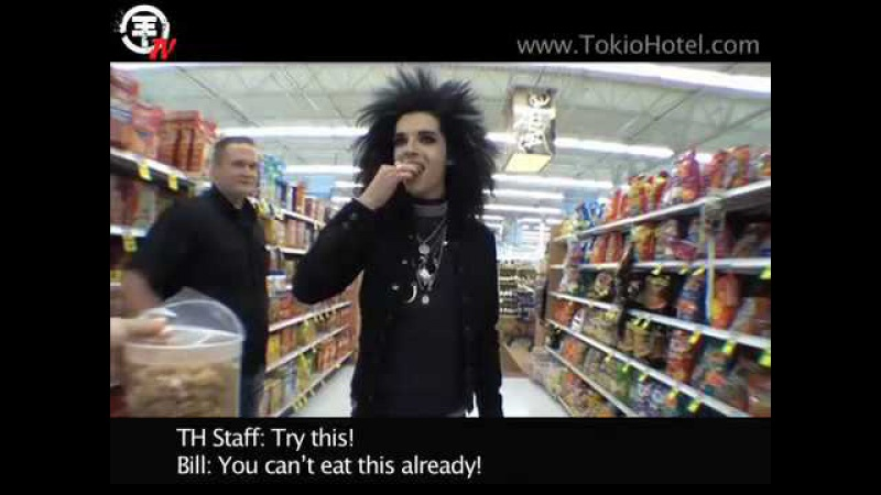 Tokio Hotel TV [Episode 41] Shopping Madness with Bill!