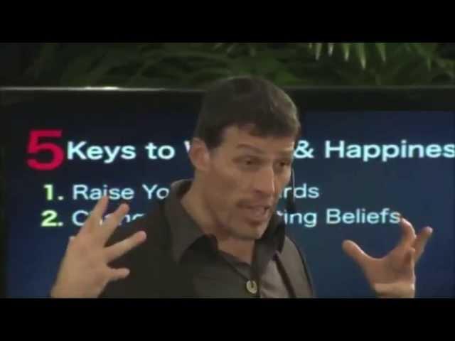 Тони Роббинс 5 ключей к процветанию и здоровью. Часть 2