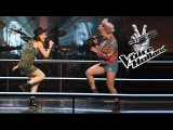 Jennie Lena vs. Leonie Bos Roar (The Battle The voice of Holland 2015)
