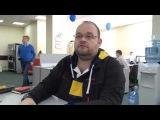 Видео-интервью Петра Диденко с CEO Pay-Me Владимиром Каниным в офисе Альфа-Банка