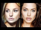 Angelina Jolie make up experiment