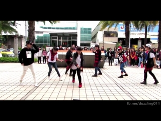150308 BTS - Boy in luv + Danger + War of Hormone Dance Cover by Dazzling