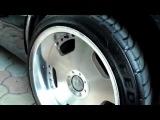 Обзор Mercedes W124 E500 ВОЛК V8 1994 Часть №3 - Японские Диски RAYS