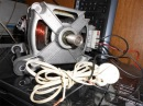 Как подключить двигатель от стиральной машины к 220