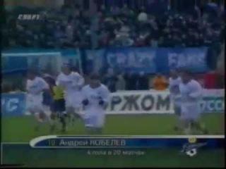 Зенит 6-1 ЦСКА / ЧР 2001