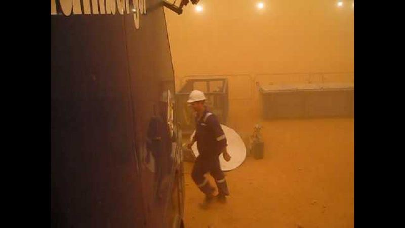 Sandstone before logging job in Algeria (Shell rig) part II