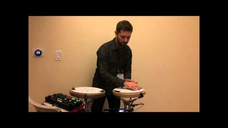 Daniel Berkman plays two Jambes