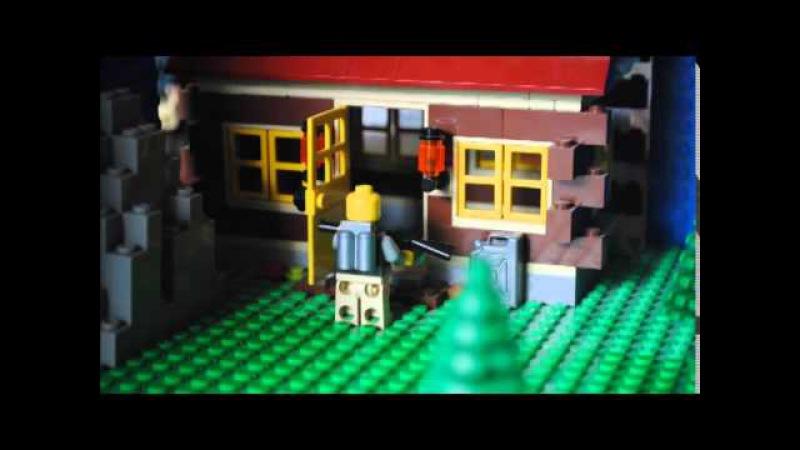 Лего сталкер 1 я серия В зоне отчуждения