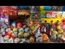 Review of toys & kinder surprises, Play Doh, My little pony, Winx, Peppa Pig, Spongebob