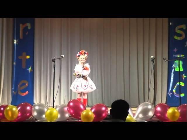 Україночка Диана Кравцова, 7 лет , Донецк.mp4