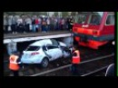 Авария ДТП. Щербинка. Поезд раздавил на жд переезде. Залетел под поезд Шевроле Лачетти 26 08 2013