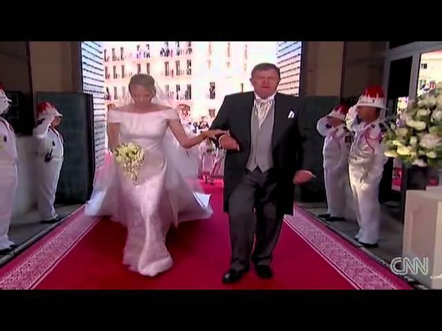Свадьба принца Альбера II и Шарлин Уиттсток