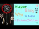 DIY Super Easy Way to Make a Dreamcatcher | Step by step! Easy tutorial! DIY With DianaTA