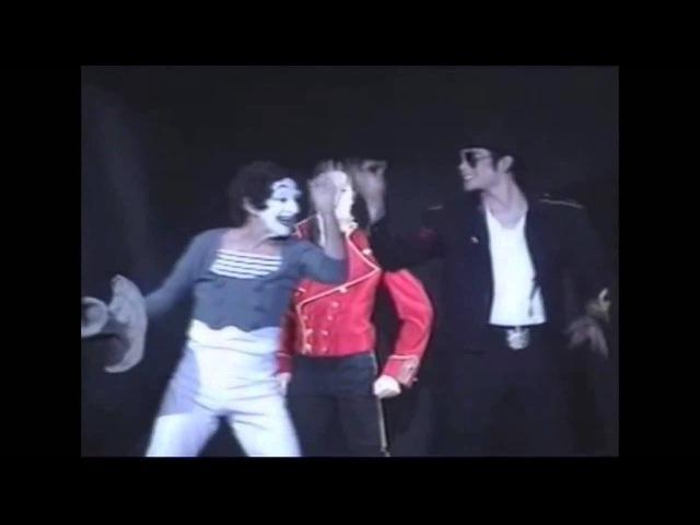 Marcel Marceau e Michael Jackson Grevin Museum 1997