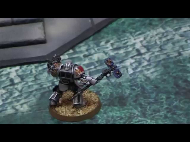 Warhammer 40000 battle report: Grey Knights vs Black Templars