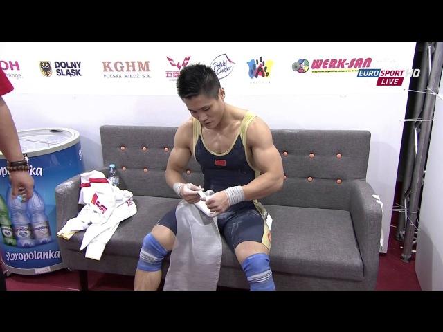 LU Xiaojun,World Record, Men 77kg ,2013 World Weightlifting Championships, Poland , HD