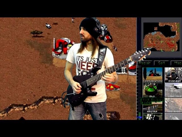Command & Conquer: Tiberian Dawn - Act On Instinct (Hard Rock Guitar Cover by ProgMuz )