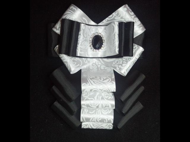 Как сделать красивую брошь бант МК Bow brooch D I Y