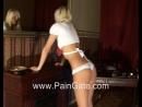 Учитель наказывает сексуальную школьницу розгами (paingate, порка плеткой)