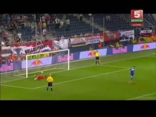 Red Bull Salzburg - Dinamo Minsk/Зальцбург - Динамо Минск 27.08.2015