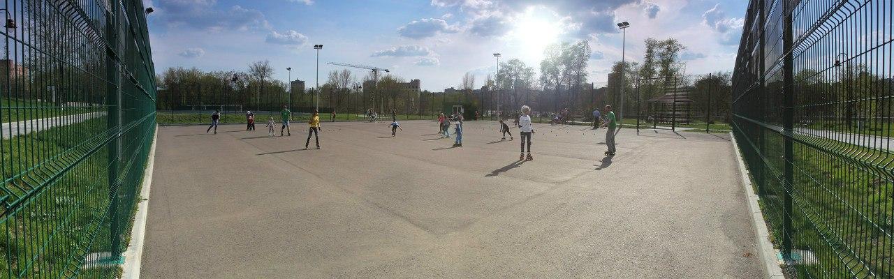 Открытая роллер площада в Парке Победы, обучение катанию на роликовых коньках, прокат роликов в г. Донецк