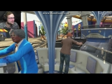Смешные моменты в GTA 5 с Куплинов плей и Морган #1