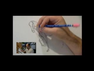 Как нарисовать коня Спирита