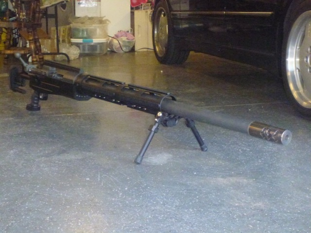 Longest range sniper rifle in the world the 14.9mm sop rifle