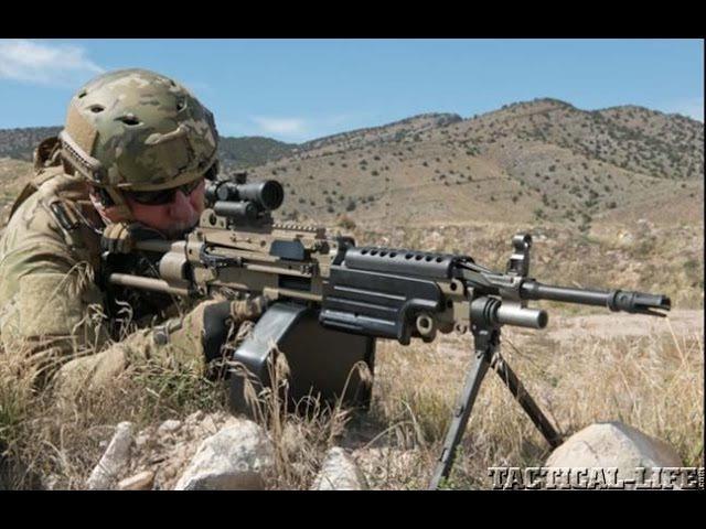 U S Machine Gun Armory's M249 SAW In 6 8 SPC