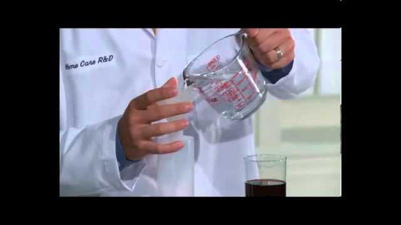 Выведение пятен на коврах - SA8 отбеливатель