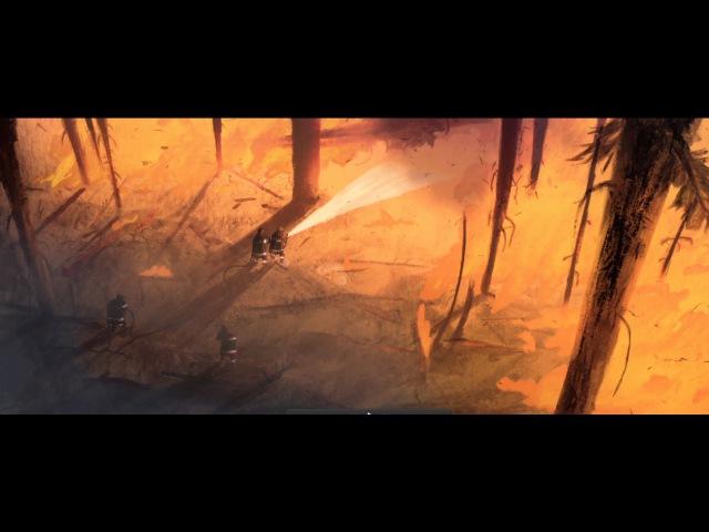 WILDFIRE   Animation Short Film 2015 - GOBELINS
