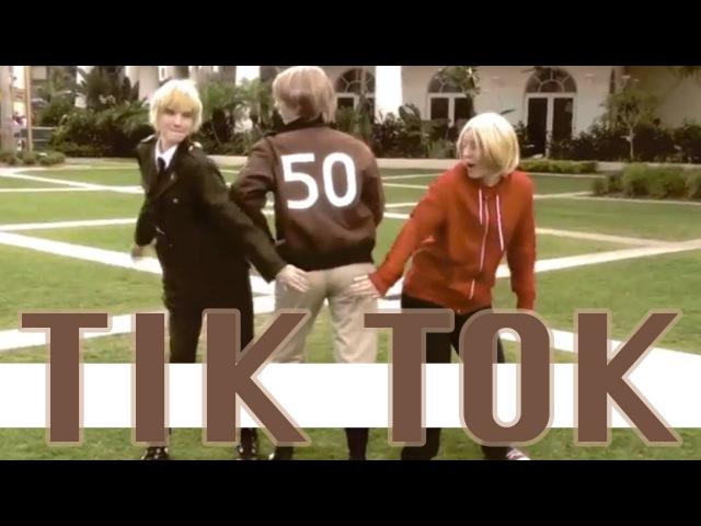 Tik Tok Cosplay Music Video Parody [Axis Powers Hetalia] Version