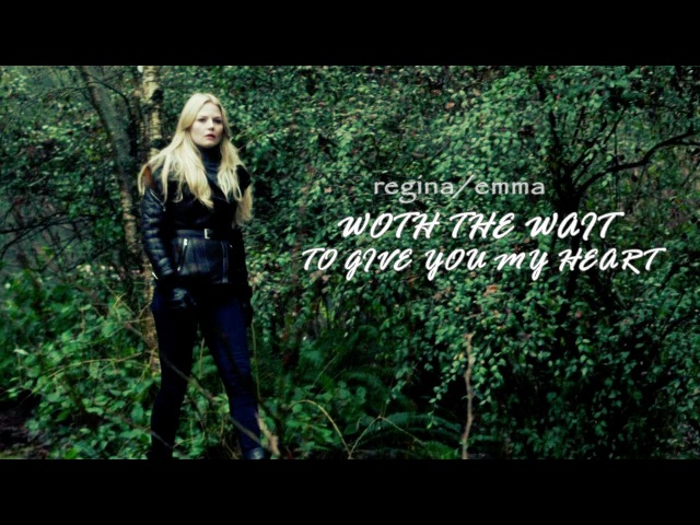 AU worth the wait to give you my heart regina emma happy b'day regina mills