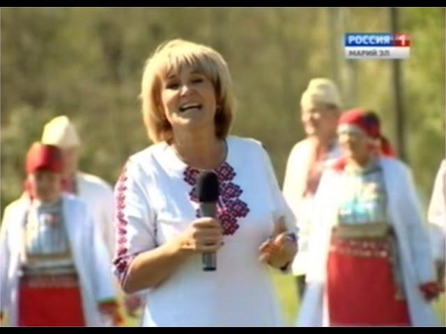 Открытие этнографического комплекса в селе Шоруньжа Моркинского района