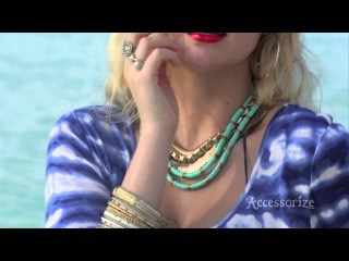 Accessorize SS13 behind the scenes shoot in Barbados with model Kate Upton