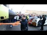 Выкатка из сборочного цеха первого Ан-178 (Antonov rolls-out first An-178 cargo plane)