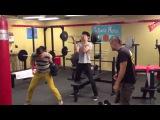 Darren Criss, Harry Shum Jr & Mark Salling: Best workout ever.