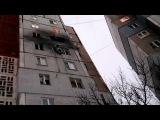 Донецк 1.12.2014 Уничтоженные квартиры по ул.Терешковой 30