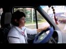 Единственная водитель-женщина перевозит пассажиров нашего города