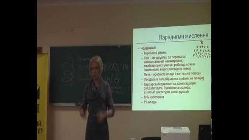 Оксана Марусич Інтегральна динаміка та Теорія поколінь